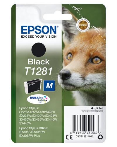 CARTUCHO NEGRO EPSON T1281