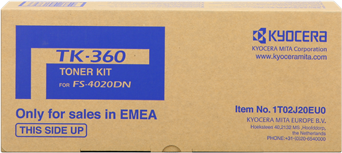 Comprar cartucho de toner 1T02J20EU0 de Kyocera-Mita online.
