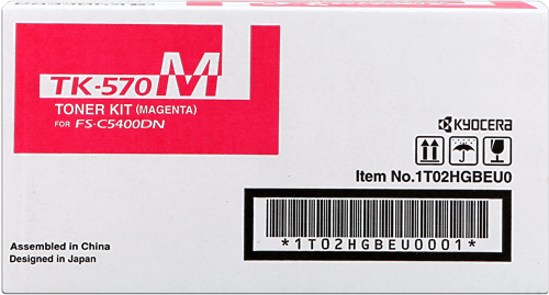 Cartucho de toner TÓNER MAGENTA TK-570M 1T02HGBEU0 12000 PAGINAS