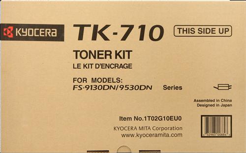 Cartucho de toner CARTUCHO DE TÓNER NEGRO KYOCERA-MITA TK-710