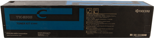 Cartucho de toner TÓNER CÍAN TK-8505C 1T02LCCNL0 20000 PAGINAS