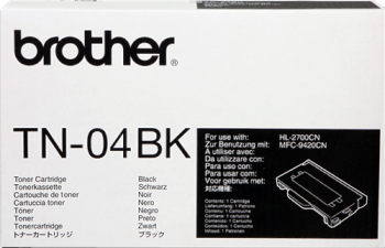 CARTUCHO DE TÓNER NEGRO BROTHER TN-04BK