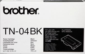 Cartucho de toner CARTUCHO DE TÓNER NEGRO BROTHER TN-04BK