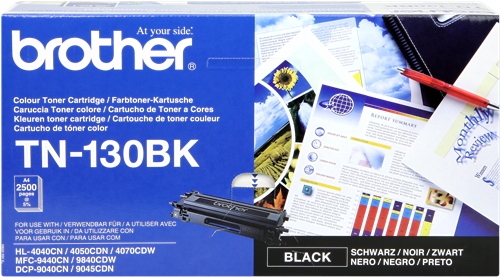 Cartucho de toner CARTUCHO DE TÓNER NEGRO BROTHER TN-130BK