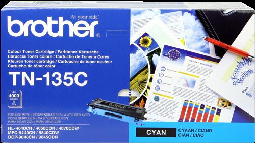 CARTUCHO DE TÓNER CIAN BROTHER TN-135C