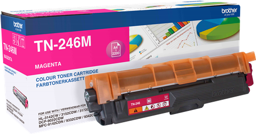 Comprar cartucho de toner TN246M de Brother online.