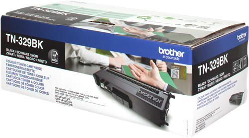 Comprar cartucho de toner TN329BK de Brother online.