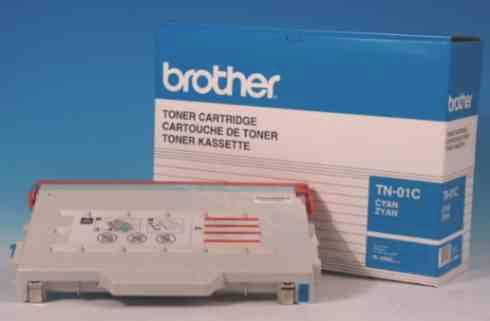 CARTUCHO DE TÓNER TN-01C CIAN BROTHER TN-01C