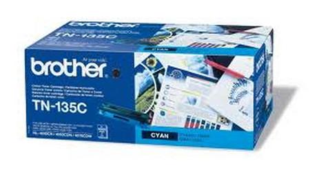 Cartucho de toner CARTUCHO DE TÓNER CIAN BROTHER TN-135C