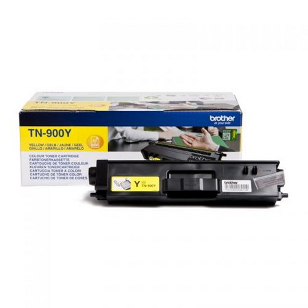 Comprar cartucho de toner TN900Y de Brother online.