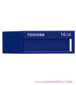Memorias flash USB UNIDAD FLASH USB TOSHIBA TRANSMEMORY U302 16GB USB 3.0 AZUL UNIDAD FLASH USB (THN-U302B0160MF)