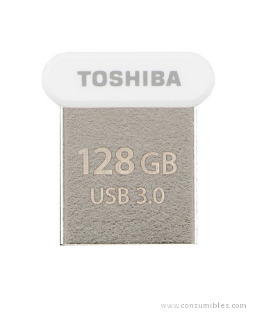 Pendrives USB TOSHIBA TRANSMEMORY U364 128GB WHITE 128GB USB 3.0 (3.1 GEN 1) TIPO A BLANCO UNIDAD FLASH USB
