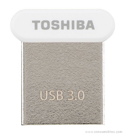 Pendrives USB TOSHIBA TRANSMEMORY U364 64GB WHITE 64GB USB 3.0 (3.1 GEN 1) TIPO A BLANCO UNIDAD FLASH USB