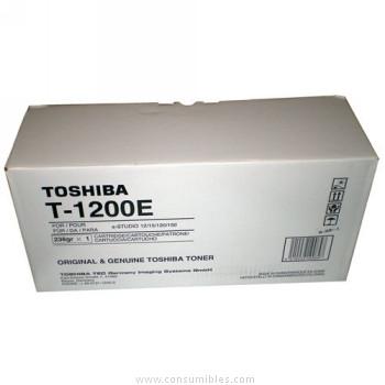 CARTUCHO DE TONER 1X210GR TOSHIBA 1200E