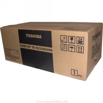 CARTUCHO DE TÓNER TOSHIBA TK-18