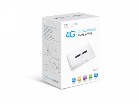 Routers Wireless TP-LINK M7300 V3 DOBLE BANDA (2,4 GHZ / 5 GHZ) 3G 4G BLANCO ROUTER INALÁMBRICO