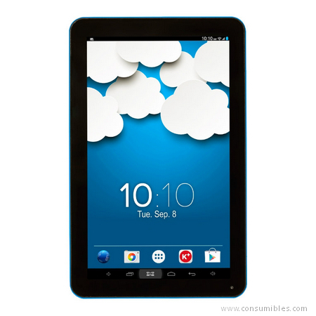 Tablets WOXTER QX 120 8GB NEGRO, AZUL TABLET