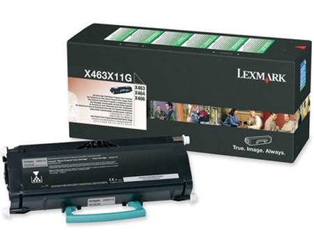 Comprar cartucho de toner 0X463X11G de Lexmark online.