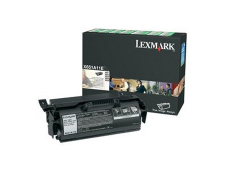 Comprar cartucho de toner 0X651A11E de Lexmark online.