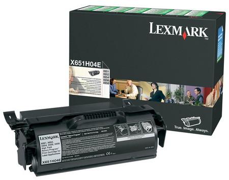 Comprar cartucho de toner X651H04E de Lexmark online.