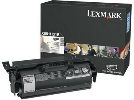 Comprar cartucho de toner 0X651H31E de Lexmark online.