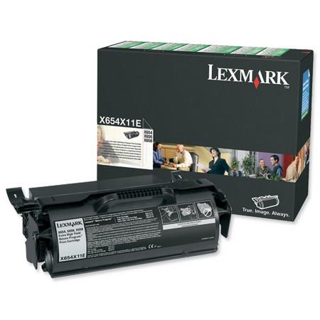 Comprar cartucho de toner X654X11E de Lexmark online.
