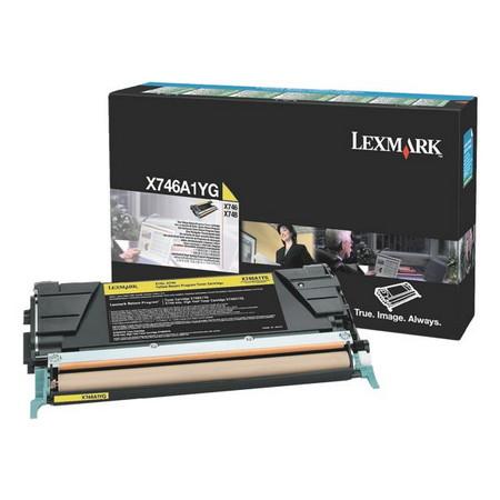 Comprar cartucho de toner X746A1YG de Lexmark online.