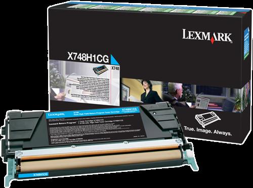 Comprar cartucho de toner X748H1CG de Lexmark online.