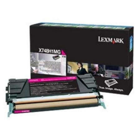 Comprar cartucho de toner X748H1MG de Lexmark online.