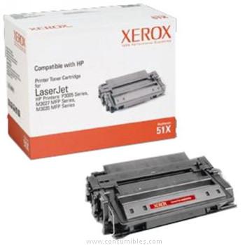 CARTUCHO DE TÓNER XEROX COMPATIBLE CON LA REFERENCIA Q7551X DE HP 51X NEGRO 13.000 PAGINAS