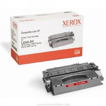 Cartucho de toner CARTUCHO DE TÓNER XEROX COMPATIBLE CON LA REFERENCIA Q7553X DE HP NEGRO 7.000 PAGINAS 53X