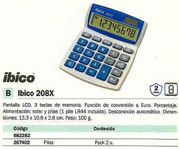 082282: Imagen de IBICO CALCULADORA SO