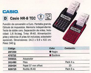 005821: Imagen de CASIO ADAPTADOR AD-A