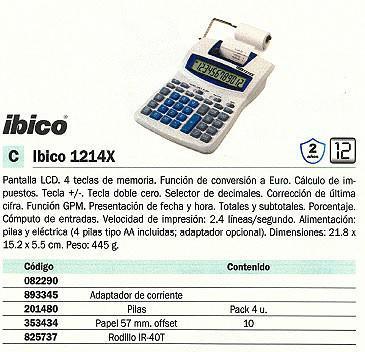 082290: Imagen de IBICO CALCULADORA SO