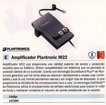 137284: Imagen de PLANTRONICS AMPLIFIC