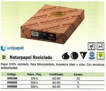 049188(1/20): Imagen de UNIPAPEL NATURPAPEL