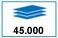 45.000 paginas